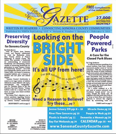 January 2011 Sonoma County Gazette - Rockin' Rio Nido - May 2011 (PDF)
