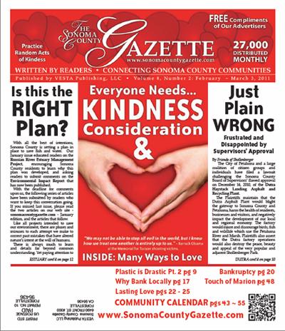 February 2011 - Sonoma County Gazette - Rockin' Rio Nido