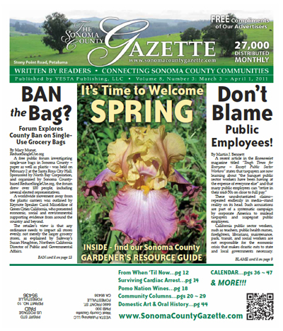 March 2011 - Sonoma County Gazette - Rockin' Rio Nido