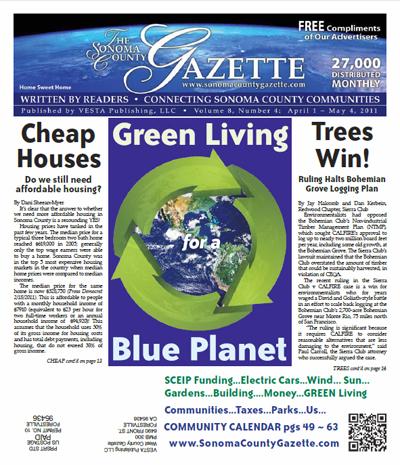 April 2011: Sonoma County Gazette, Rockin' Rio Nido