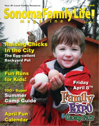 April 2011, Sonoma Family Life cover.