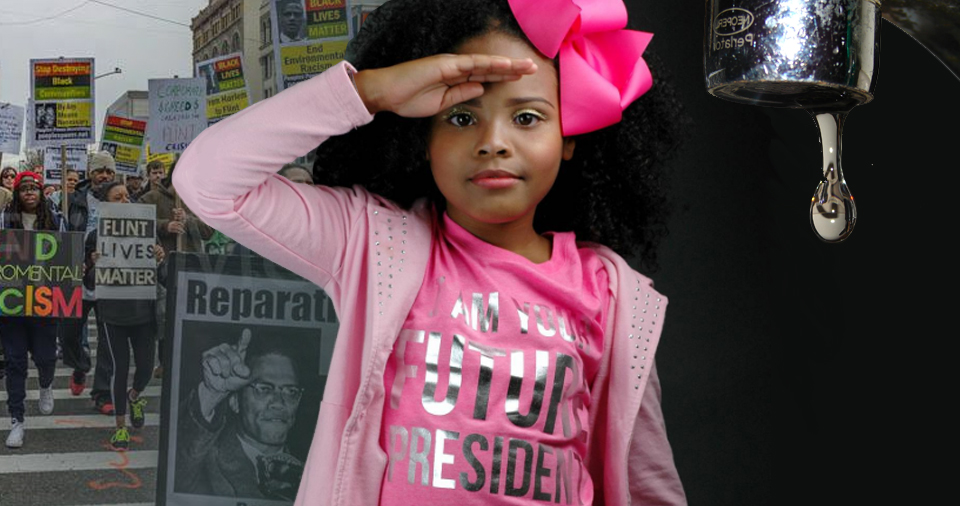 """I want to be president,"" 9-year-old Mari Copeny declared. Despite all the publicity her activism has gotten, Flint still doesn't have clean drinking water."