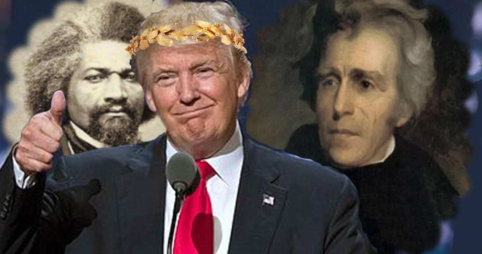 Once again, Donald Trump's revealed his woeful lack of knowledge when it comes to history, and Twitter's having a field day with it. #TrumpTeachesHistory