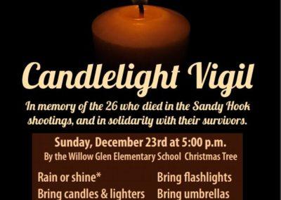 2012.12.23 - Sandy Hook Candlelight Vigil
