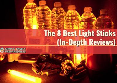 The 8 Best Light Sticks - In-Depth Reviews For Simple Family Preparedness.