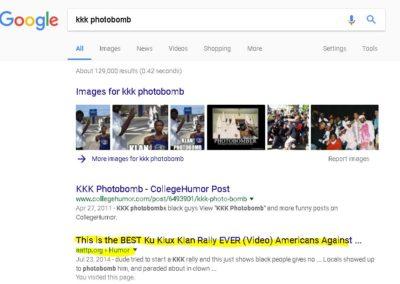 Screen shot of trending AATTP.Org story getting top ranking on Google.