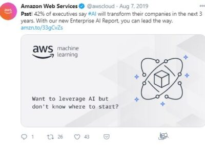 AWS AIML - Enterprise AI Report post