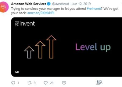 AWS Reinvent - Justification Letter 2 post