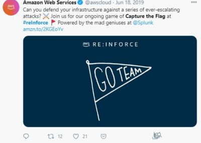AWS reInforce - Capture the Flag post